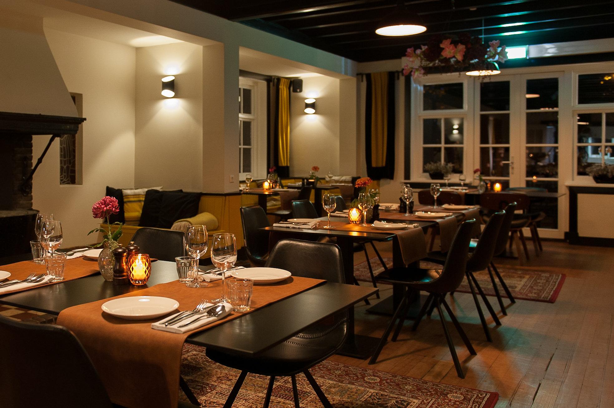Restaurant Huize Koningsbosch geopend voor lunch en diner